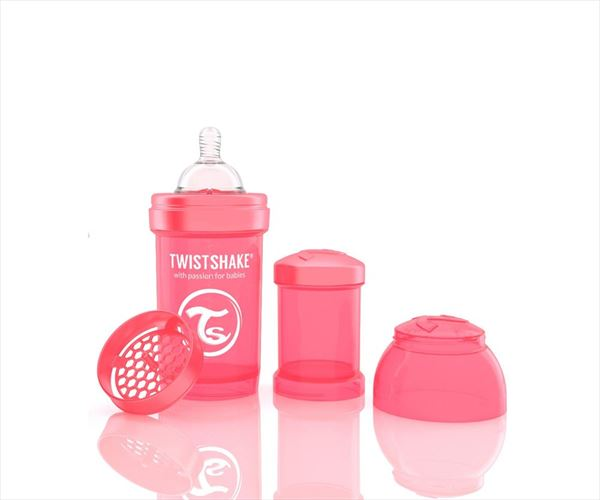 Twistshake 180 ml coral