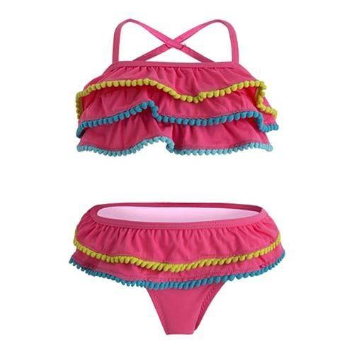 11181573fe74 Bikini niña rosa bahia | Tuc Tuc verano 2019