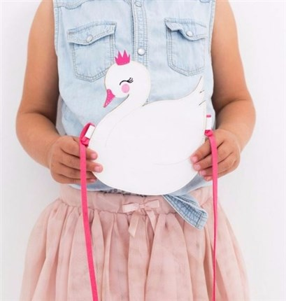 A Little lovely company| Bolso monedero con forma de cisne | Universo Mini