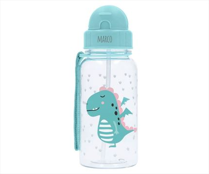 Botella de plástico tritan saludable dragón personalizable | Universo Mini