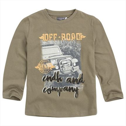 Canada House | Camiseta m/l niño OFF ROAD