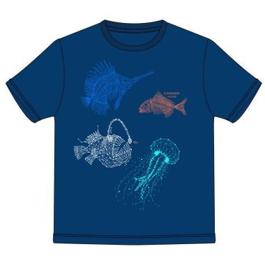 Camiseta deep sea