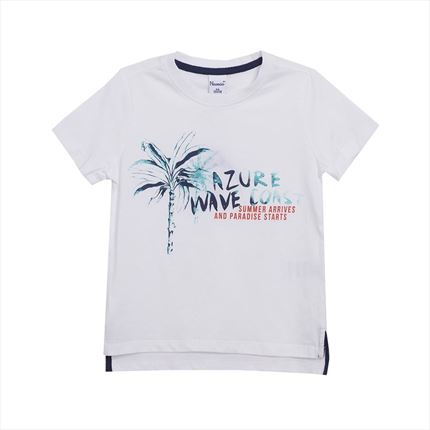 Camiseta azure wave coast | Universo Mini