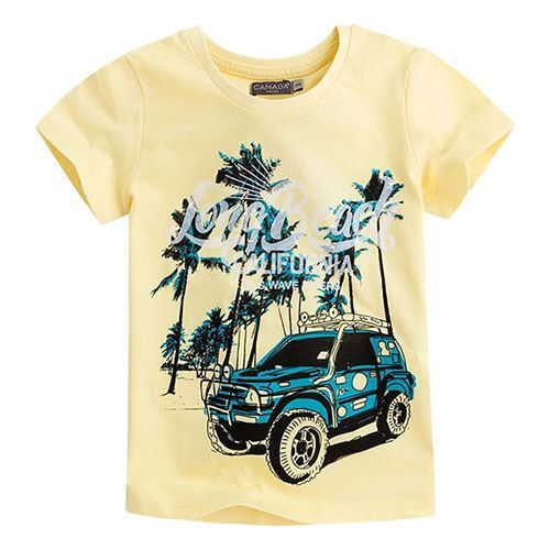 Camiseta niño long beach Canada House