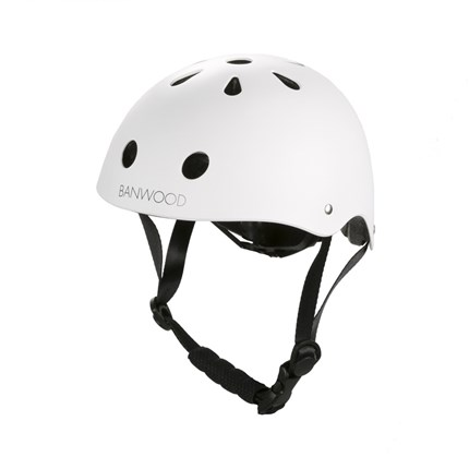 Casco Banwood blanco | Universo Mini