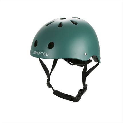 Casco Banwood verde | Universo Mini