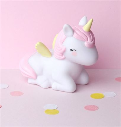 A Little Lovely company | Hucha unicornio| Universo Mini