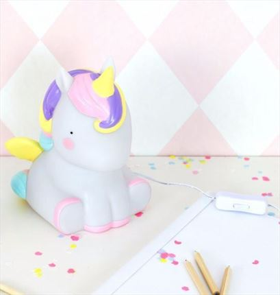 Lámpara de mesa Unicornio | A Little Lovely Company
