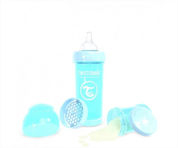 twistshake 260 ml pastel azul