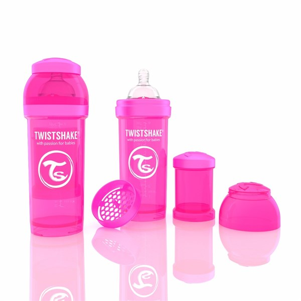Twistshake 260 ml rosa