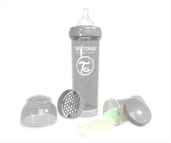twistshake 330 ml pastel gris