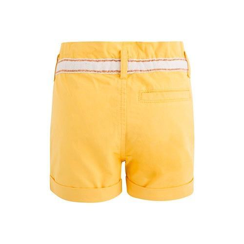 Shorts amarillo Niña Canada House (1)