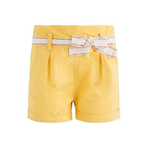 Shorts amarillo Niña Canada House