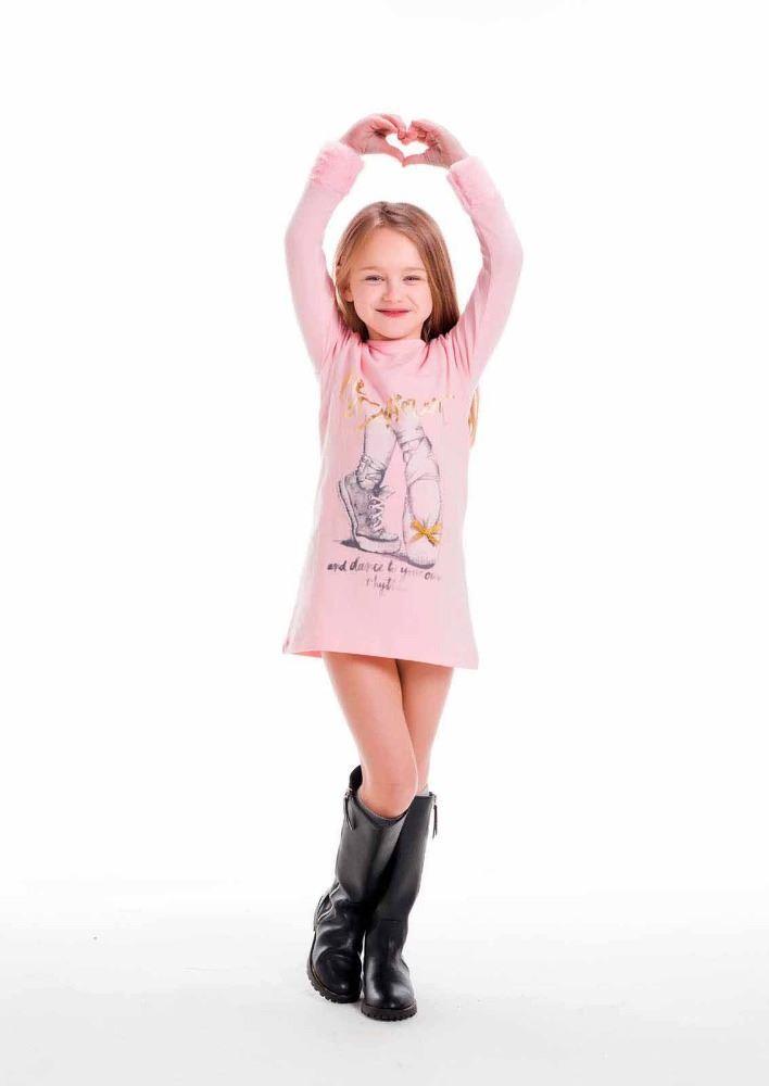 completamente elegante Excelente calidad precio atractivo Vestido rosa niña bailarina